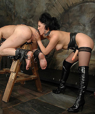 Mistress bdsm strap on xxx hot images