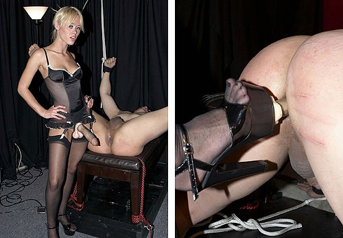 Stockings Strapon Mistress