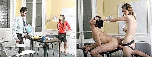 Strapon Teacher